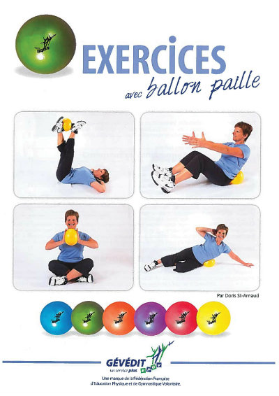 Populaire Gym pilate avec ballon - Fit pilates YT63
