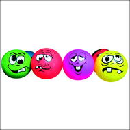 Lot de 6 ballons visages