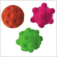 Lot de 3 D-Stressball